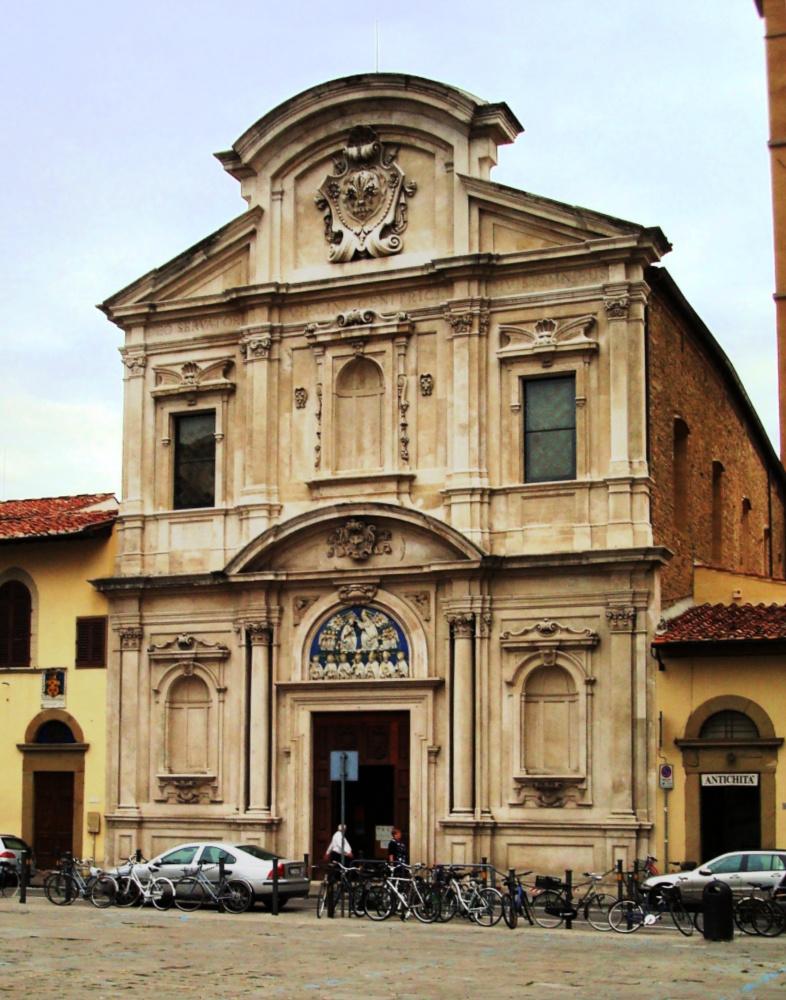 Voorgevel kerk van San Salvatore di Ognissanti, Florence