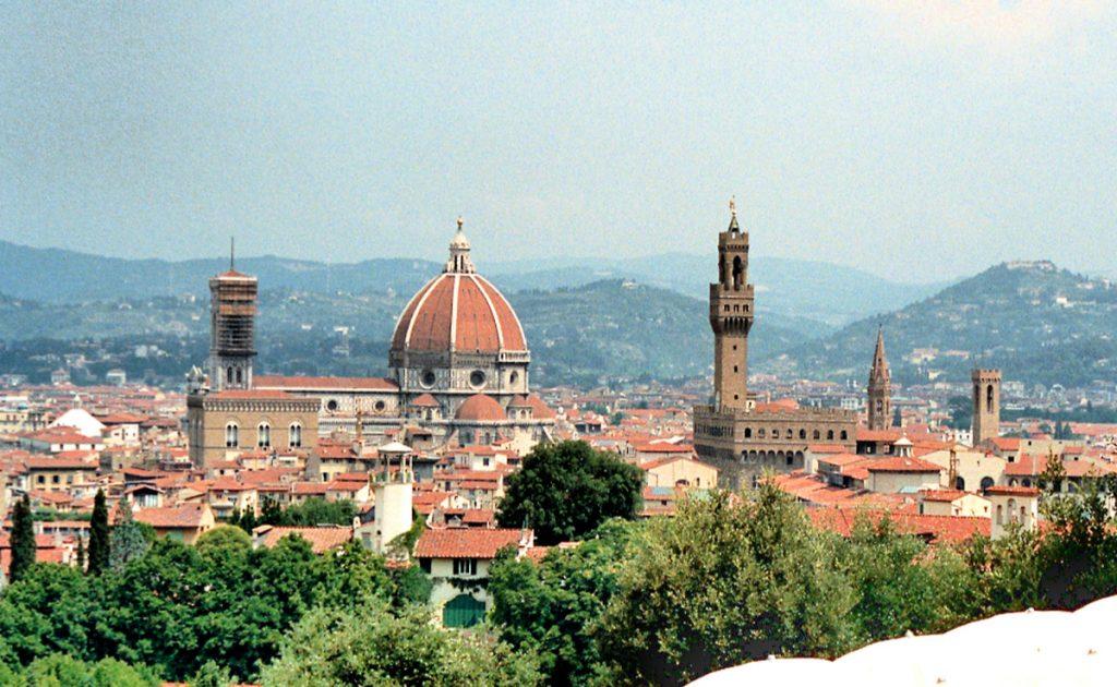 Koepel van de dom van Florence, Santa Maria del Fiore (Brunelleschi)